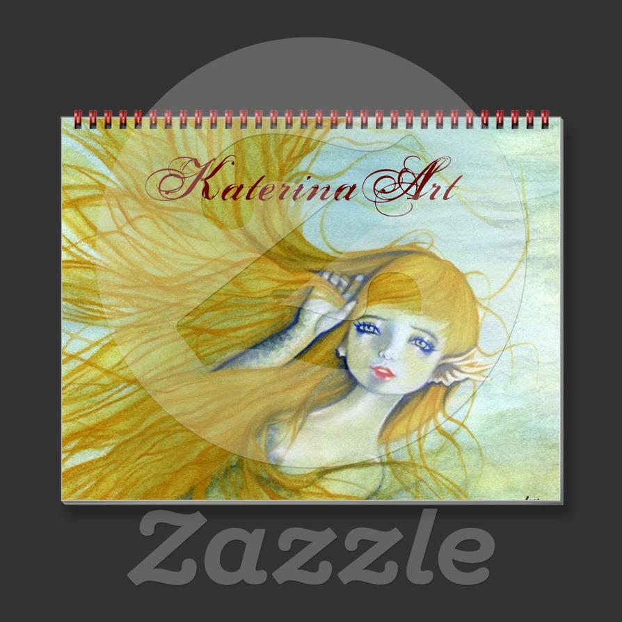 Sirens 2015 Calendar by Katerina-Art