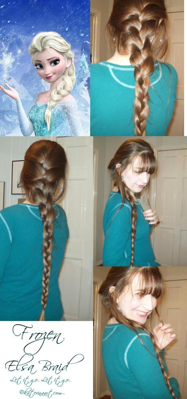 Frozen Braid Elsa by Katerina-Art