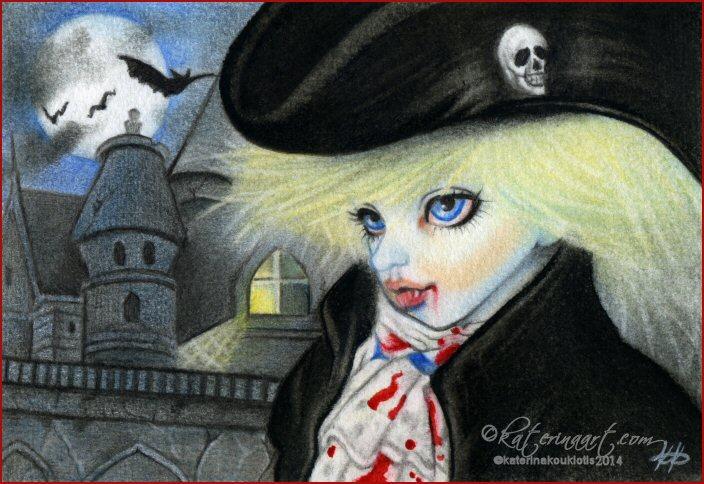 Dracula by Katerina-Art