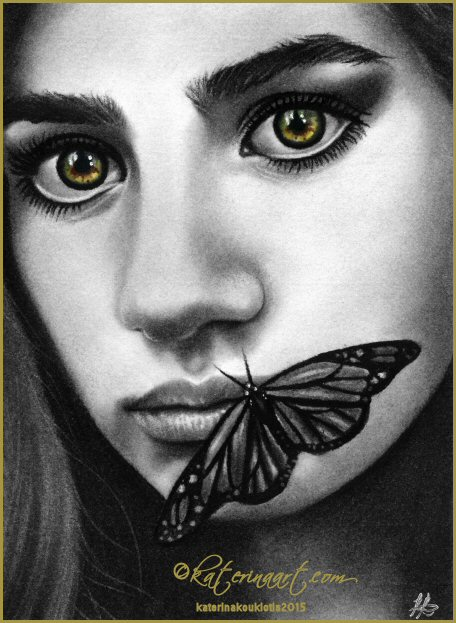 Dark Butterfly by Katerina-Art