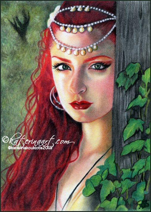 Дух леса по Katerina-Art
