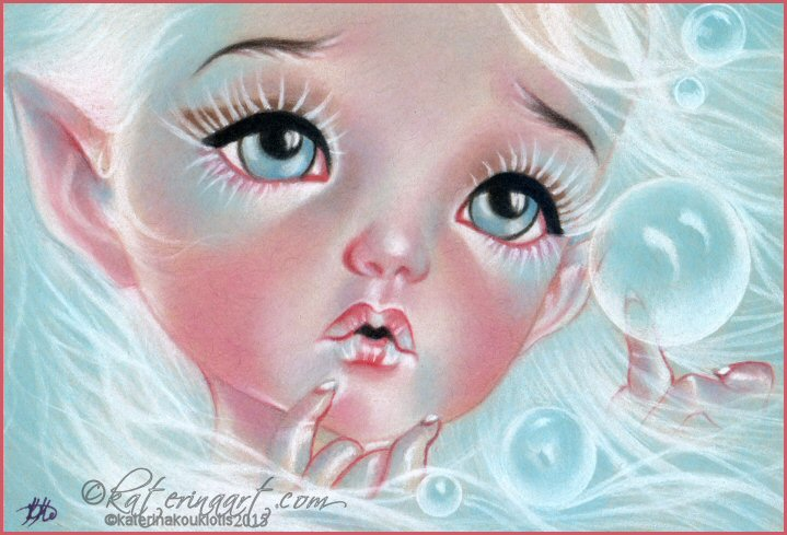 Tiny bubbles by Katerina-Art