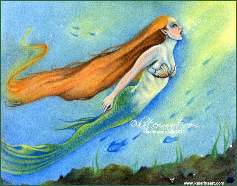 Lantern of the Mermaid by Katerina-Art