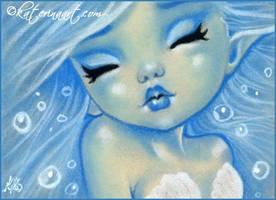 Aqua Sirena by Katerina-Art