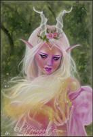 Sorceress of light by Katerina-Art