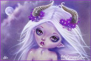 Little Luna by Katerina-Art