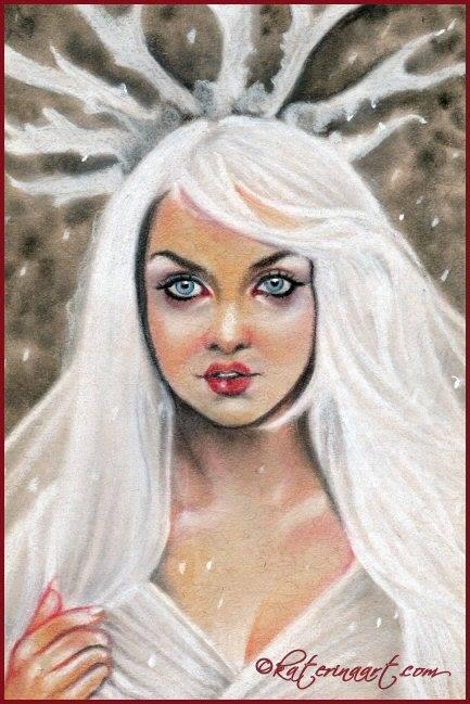 The Enchantress -sketch by Katerina-Art