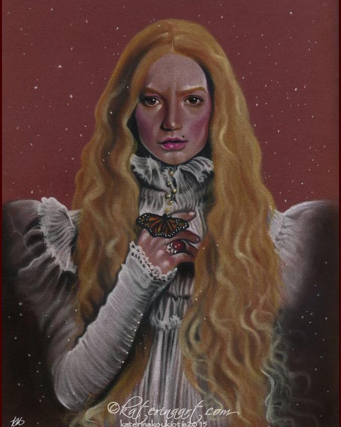 Edith Crimson Peak by Katerina-Art