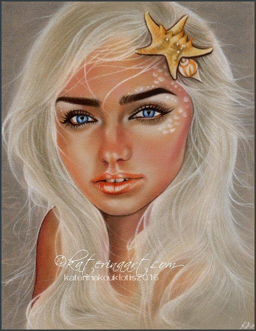 Mermaid Sails by Katerina-Art