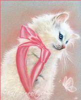 The cat returns (Yuki) by Katerina-Art