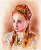 Sansa Stark by Katerina-Art