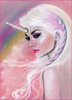 Lady Rainicorn by Katerina-Art