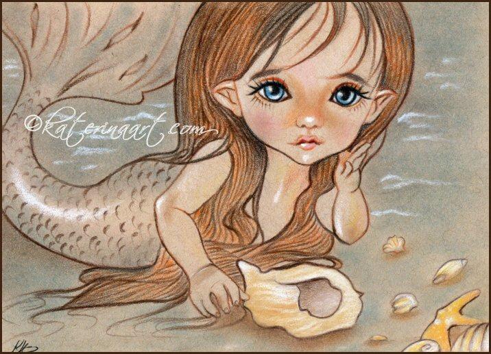 Little Sirenita by Katerina-Art