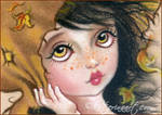 Waiting for Autumn ACEO