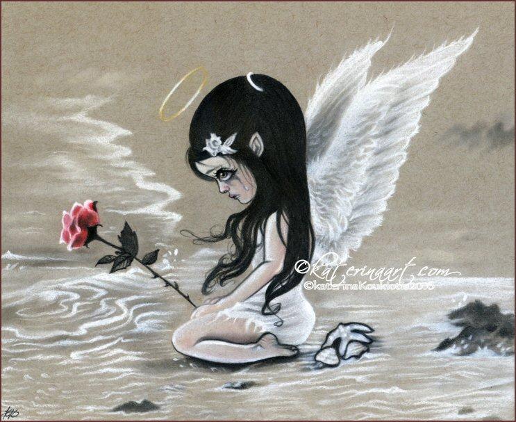Sea of Tears by Katerina-Art