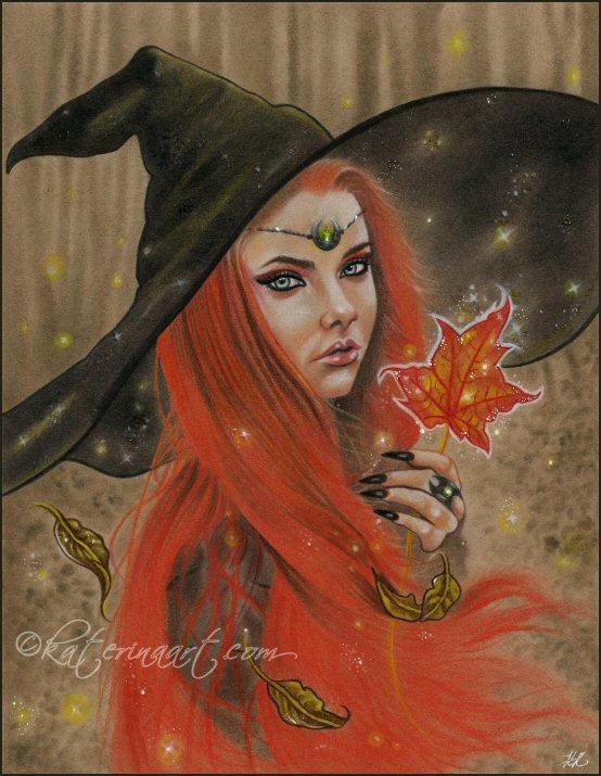 Autumn Sparkles by Katerina-Art