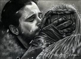 Jon Snow and Sansa Stark by Katerina-Art