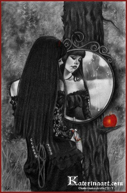 Mirror of Sorrow by Katerina-Art