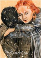 Reunion (Jon Snow and Sansa Stark ) by Katerina-Art