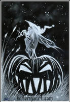 Witch Fairy -sketch by Katerina-Art