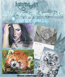 Gift of Love Calendar Giveaway! by Katerina-Art