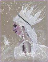 Winter fairy queen by Katerina-Art
