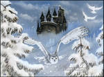Winter Fairytale - Pastel Drawing Fantasy