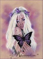 I wish i had your wings by Katerina-Art