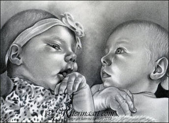Mommys little angels -COMMISSION by Katerina-Art