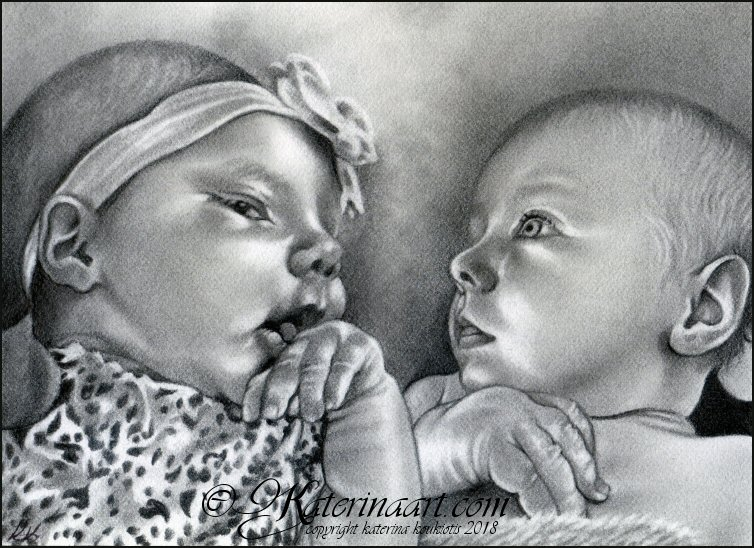 Mommys little angels -COMMISSION