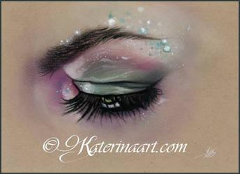 Mermaid Eye by Katerina-Art