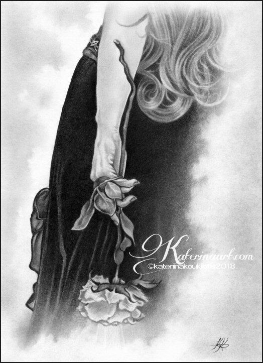 My secret rose by Katerina-Art