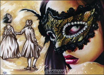 Masquerade Ball by Katerina-Art