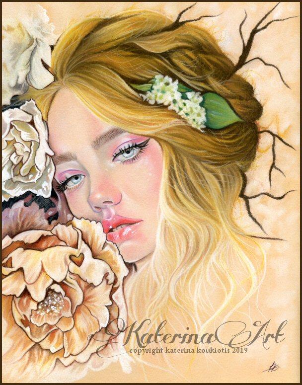 Flora by Katerina-Art