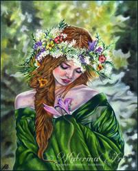 Persephone by Katerina-Art