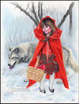 Little red riding hood and the bad wolf
