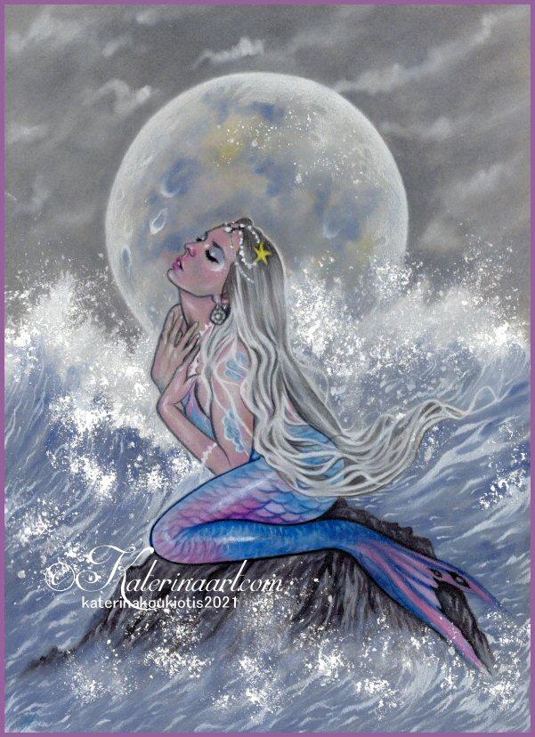 Sirena de la luna