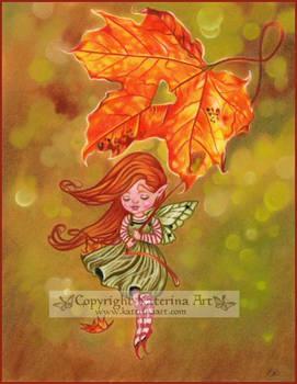 Fairy of fall