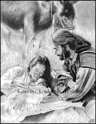 Away in a Manger by Katerina-Art