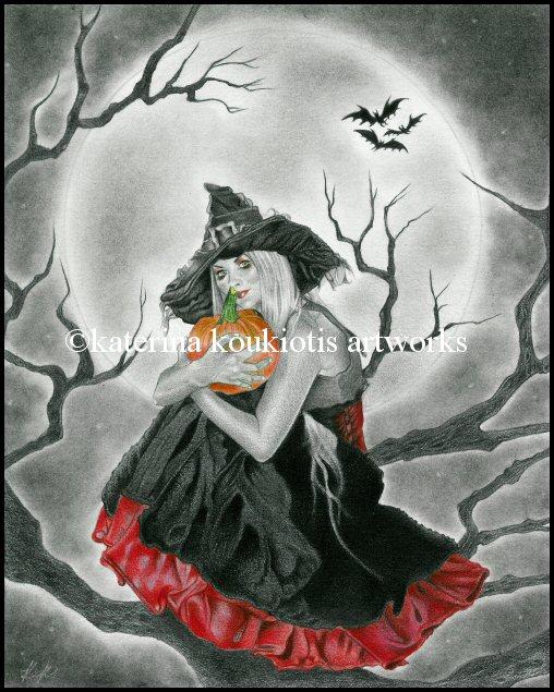 Halloween Night by Katerina-Art