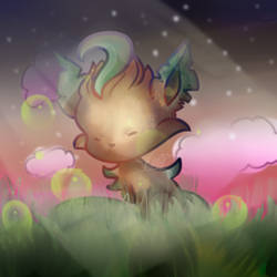 Leafeon by nellydrawings