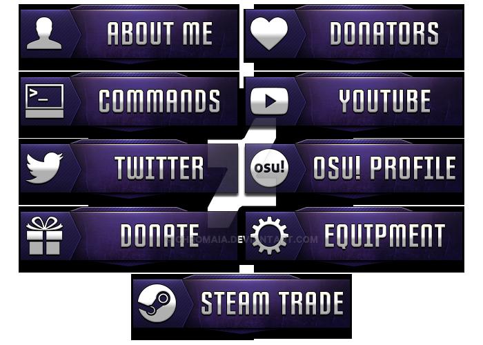 Twitch Panels By Shounenmoy Deviantart – Fondos de Pantalla