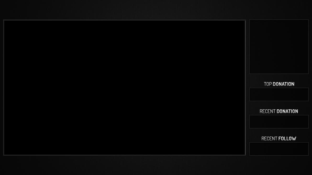 Twitch Stream Overlay - Simple Grey by Chromaia on DeviantArt