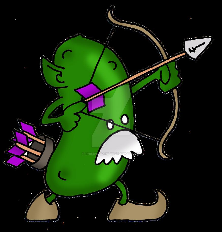 Elf Cucumber by PhilipBedard