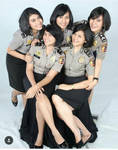 Polwan - Indonesian Policewoman