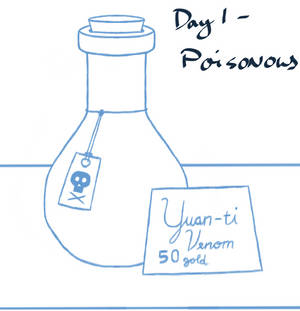 Sketchtember 2019 #1 - Poisonous
