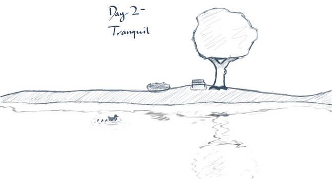Sketchtember 2019 #2 - Tranquil