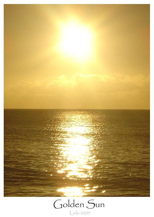 Golden Sun by Leilo