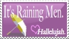 It's Raining Men Stamp by Rairox64