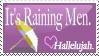 It's Raining Men Stamp by Rairox64